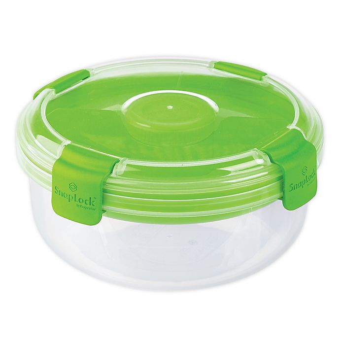 Alternate image 1 for Progressive® Snaplock 4-Cup Salad-To-Go Container in Green