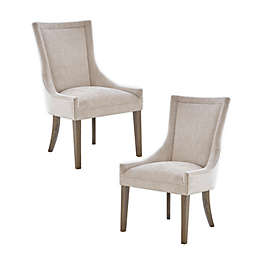 Madison Park Signature Ultra 2-Piece Dining Side Chair in Cream