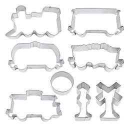 R & M 8-Piece Train Cookie Cutter Set