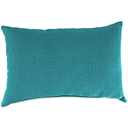Jordan Manufacturing Outdoor Rectangular Throw Pillow in Ginger