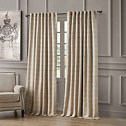 Waterford® Astrid 84-Inch Rod Pocket/Back Tab Window Curtain Panel in Taupe
