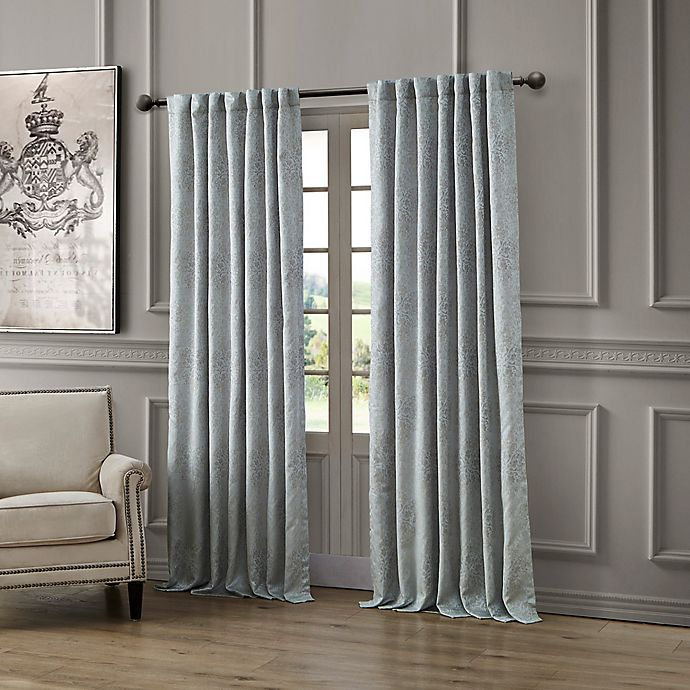 Alternate image 1 for Waterford® Delia Rod Pocket/Back Tab Window Curtain Panel