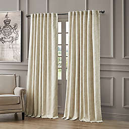 Waterford® Delia 96-Inch Rod Pocket/Back Tab Window Curtain Panel in Ivory