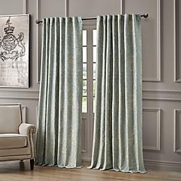 Waterford Juniper Rod Pocket/Back Tab Light Filtering Window Curtain Panel