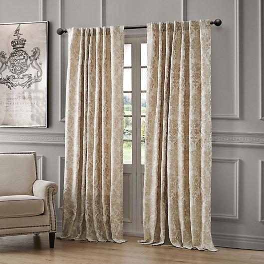 Alternate image 1 for Waterford Juniper Rod Pocket/Back Tab Light Filtering Window Curtain Panel (Single)