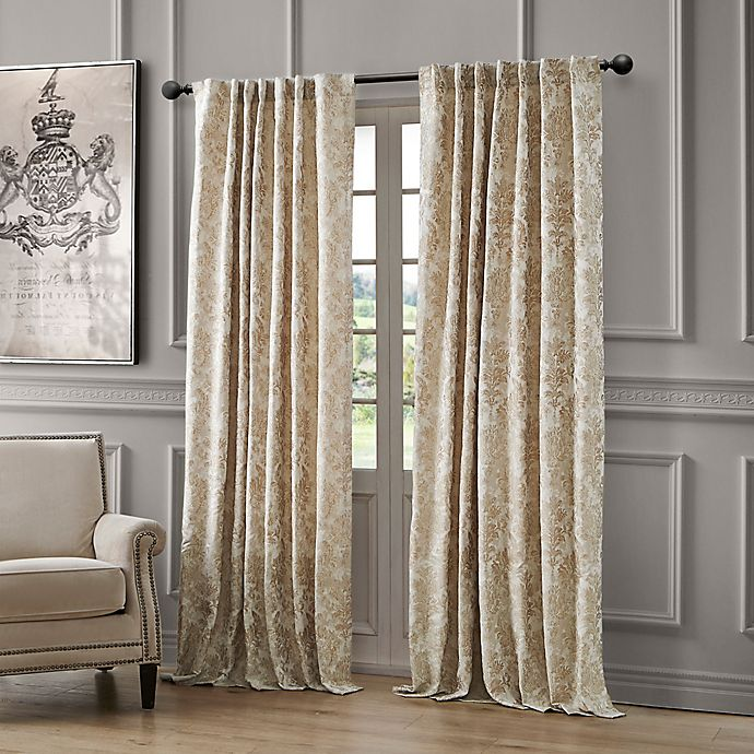 Alternate image 1 for Waterford Juniper Rod Pocket/Back Tab Light Filtering Window Curtain Panel