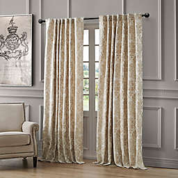 Waterford Juniper Rod Pocket/Back Tab Light Filtering Window Curtain Panel