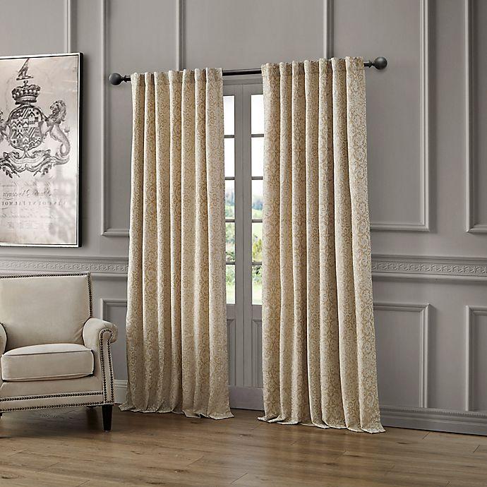 Alternate image 1 for Waterford Renly Rod Pocket/Back Tab Room Darkening Window Curtain Panel