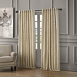 Waterford Lawrence Rod Pocket/Back Tab Room Darkening Window Curtain Panel