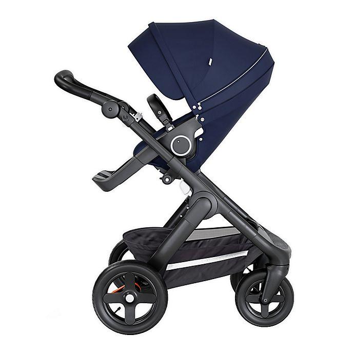 Alternate image 1 for Stokke® Trailz™ All-Terrain Stroller in Deep Blue