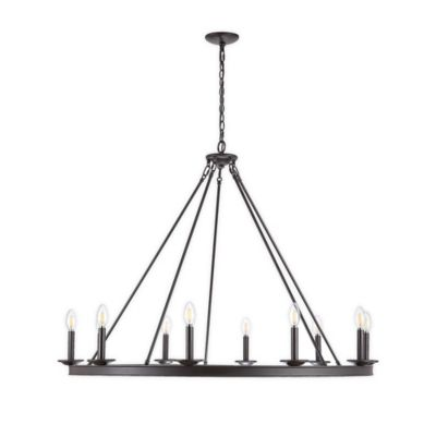 Chadwick Brushed Nickel 22 Inch Four Light Chandelier