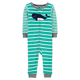 carter's® Striped Footless Pajama