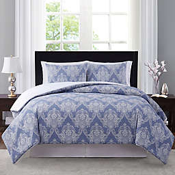 Wamsutta® Somerton 3-Piece Comforter Set in Blue