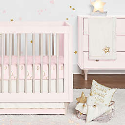 Just Born® Sparkle 3-Piece Crib Bedding Set in Pink