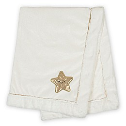 Just Born® Sparkle 2020 Security Blanket in White/Gold