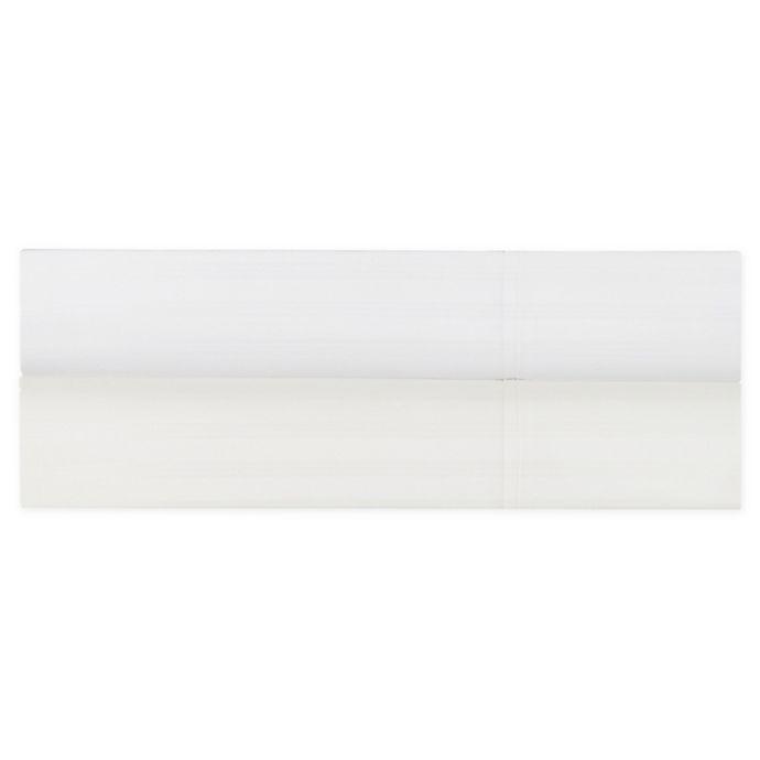 Alternate image 1 for Brookstone® BioSense™ Striped 500-Thread-Count Lyocell Sheet Set