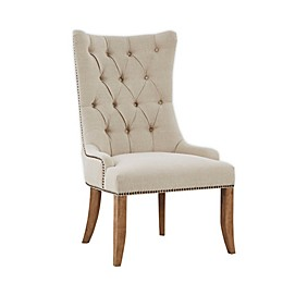 Madison Park Lucas Accent Chair in Cream