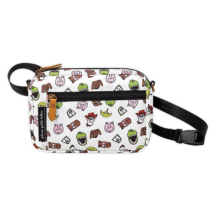 Alternate image 1 for Petunia Pickle Bottom® Disney® Toy Story Adventurer Belt Bag in White
