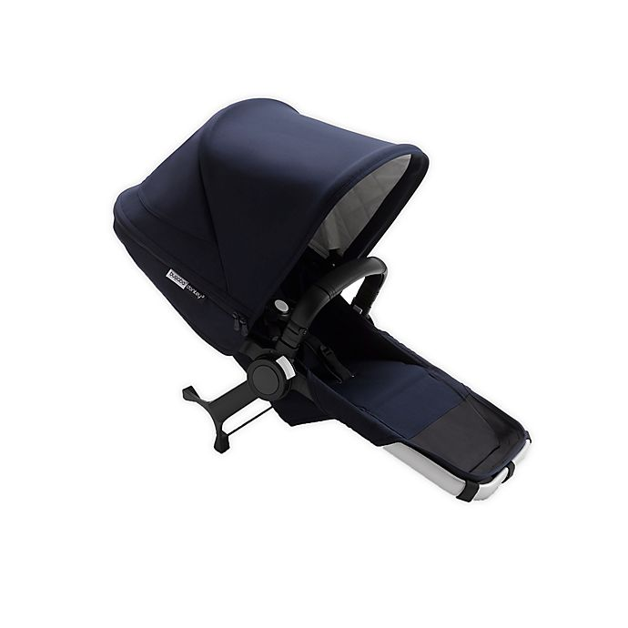 Alternate image 1 for Bugaboo Donkey 3 Duo Extension Stroller Seat in Dark Navy