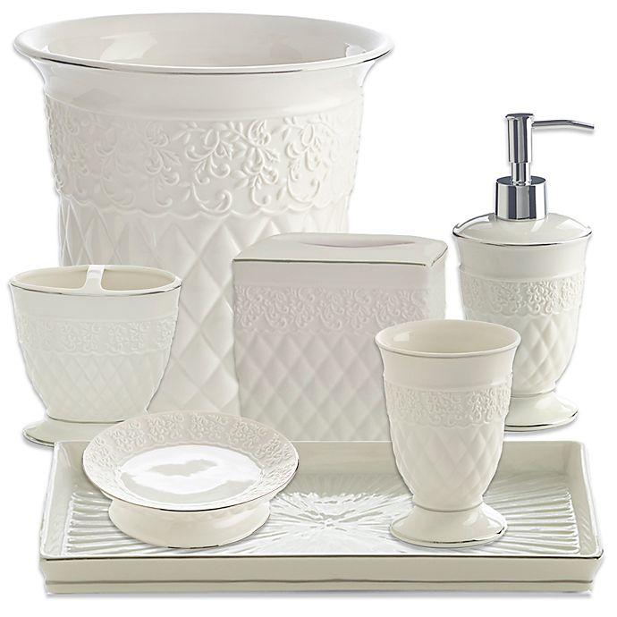 Bed Bath And Beyond Bath Accessories: Kassatex Florentine Bathroom Accessories