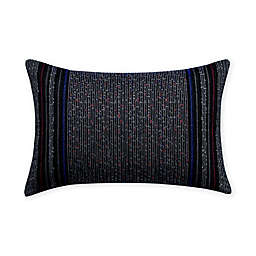 Robert Graham® Embroidered Oblong Square Throw Pillow in Grey