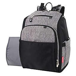 Fisher Price® Kaden Super Cooler Backpack Diaper Bag in Grey