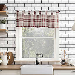 No.918® Blair 14-Inch Tab Top Kitchen Valance in Red