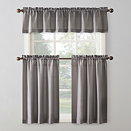 No. 918™ Martine 3-Piece Curtain Valance and Tier Set