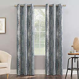 Sun Zero®Allegory Abstract Painting Room Darkening Grommet  Curtain Panel