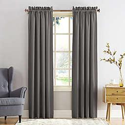 Sun Zero® Bella 108-Inch Curtain in Steel (Single)