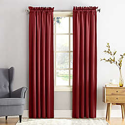 Sun Zero® Bella 108-Inch Curtain in Brick