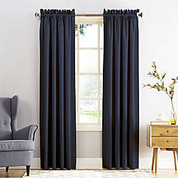 Sun Zero® Bella 63-Inch Curtain in Navy