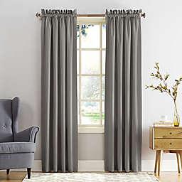 Sun Zero® Bella 63-Inch Curtain in Grey (Single)
