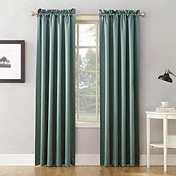 Sun Zero® Bella 63-Inch Curtain in Mineral (Single)