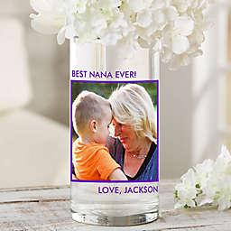 "Picture Perfect Personalized 7.5"" Photo Vase for Grandma"