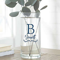 """Family Initial Personalized 7.5"""" Flower Vase"""