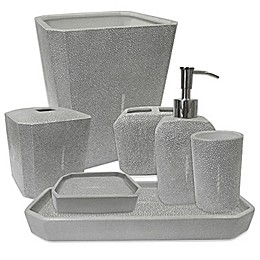 Kassatex Shagreen Bath Accessory Collection