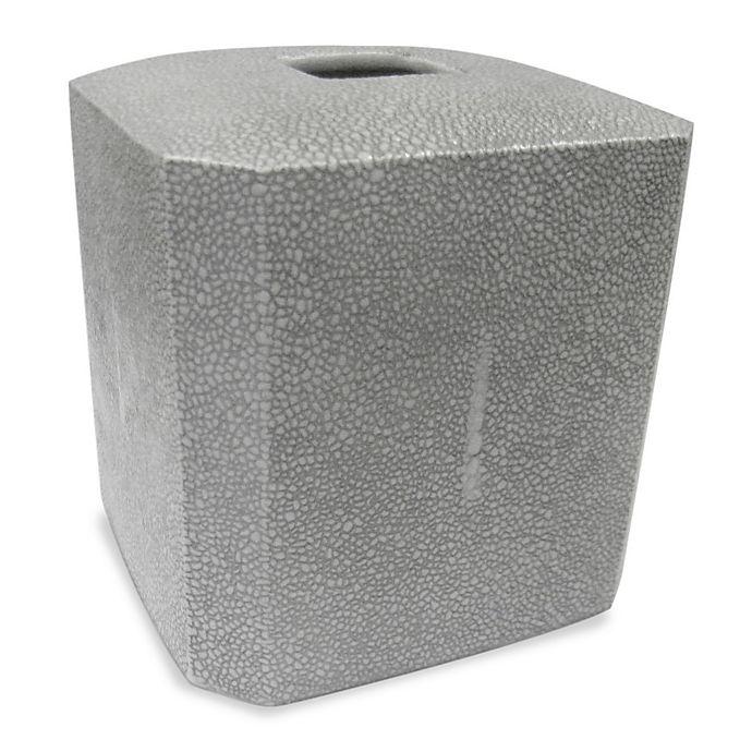 Alternate image 1 for Kassatex Shagreen Boutique Tissue Box Cover