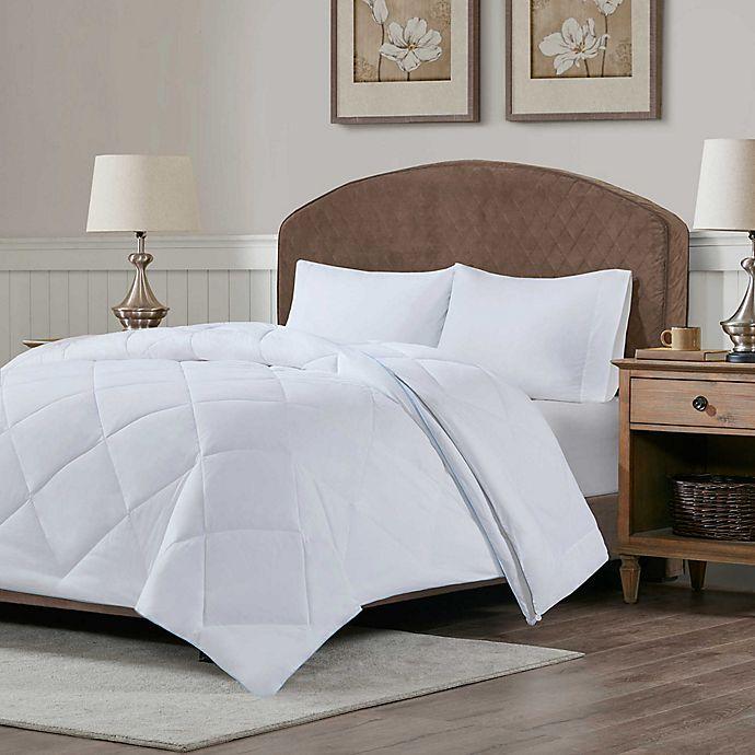 Alternate image 1 for Sleep Philosophy 2-Piece Cooling/Warm Down Alternative Comforter Set