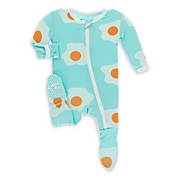 KicKee Pants® Iceberg Egg Footie in Blue