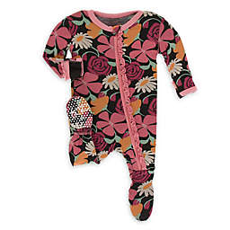 KicKee Pants® Zebra Market Flowers Footie Pajama