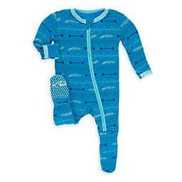 KicKee Pants® Amazon Cowboy Footie Pajama in Blue