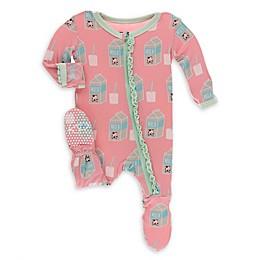 KicKee Pants® Strawberry Milk Footie Pajama in Pink