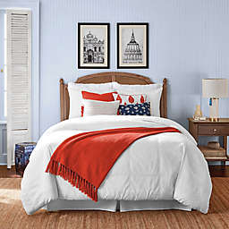 One Kings Lane Open House™ Wickford 3-Piece Full/Queen Comforter Set in White