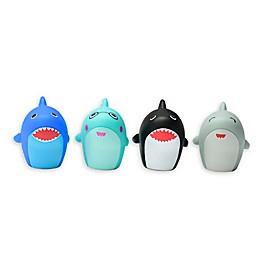 Magic Years® Shark Finger Puppet Bath Toys (Set of 4)
