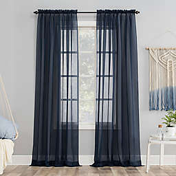 No.918® Emily 84-Inch  Curtain Panel in Navy (Single)