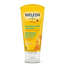 Weleda Baby 6.8 fl. oz. 2-in-1 Gentle Shampoo & Body Wash with Calendula