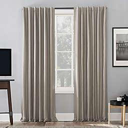Sun Zero® Evelina 63-Inch Backtab Curtain in Stone (Single)