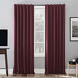 Sun Zero® Evelina 95-Inch Backtab Curtain in Pearl (Single)