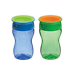 Wow Cup® 2-Pack 10 oz. Kids' Cups in Blue/Green